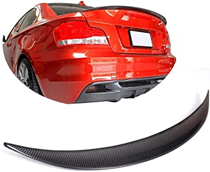 Carbon Fiber Rear Boot Trunk Spoiler Wing For BMW E82 1series128i 135i Coupe