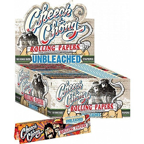 Cheech & Chong Unbleached Rolling Papers - King Size (1 Pack)