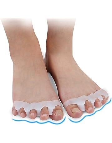 Separador de dedo del pie 1pair Hallux Valgus-Toed Foot Bones Corrección del dedo del