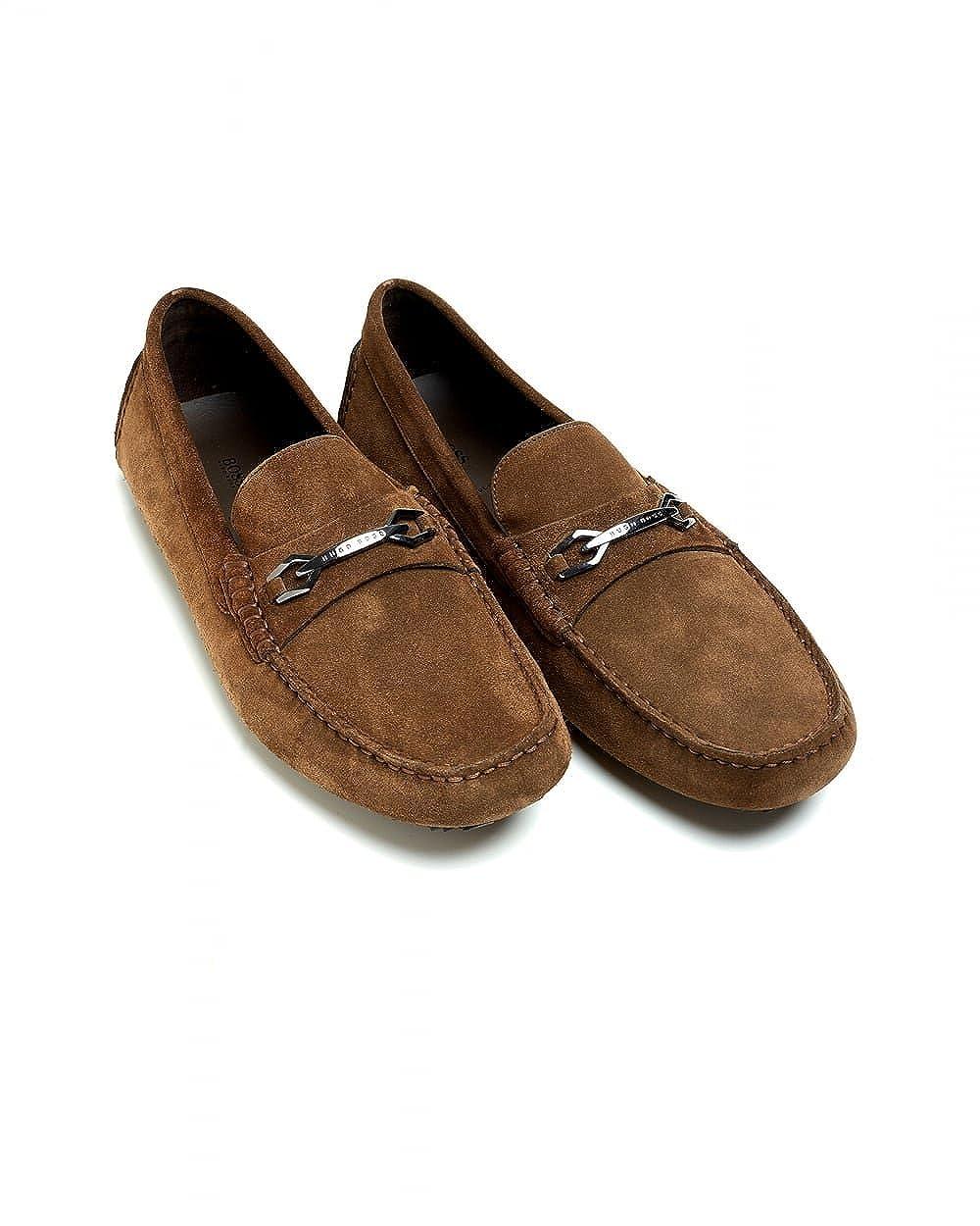 Hugo Boss - Mocasines para Hombre marrón marrón: Amazon.es: Zapatos y complementos