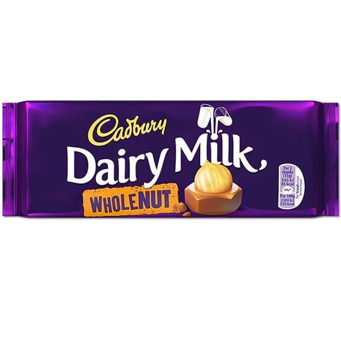 Cadbury La Leche De Vaca Entera 120G Tuerca (Caja De 13)