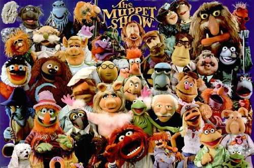 The Muppet Show Poster Full Cast Rare Hot New