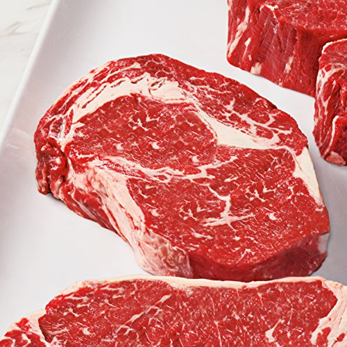 4 Gift Boxed USDA Prime Private Stock Ribeye Steaks, 10 oz each from Kansas City Steaks