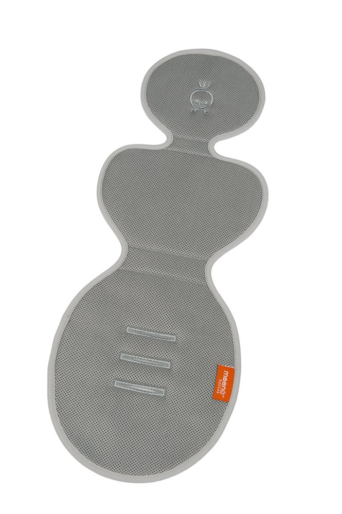 Cool Mee - Bucket Seat Liner - 0-12 months - Silver Meeno Babies 001BS9