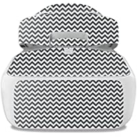 Skin For DJI Goggles – Gray Chevron | MightySkins Protective, Durable, and Unique Vinyl Decal wrap cover | Easy To Apply, Remove, and Change Styles | Made in the USA