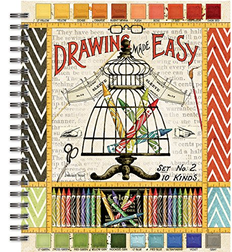 Lang Draw Near Spiral Bound Sketchbook by Janet Wecker-Frisch, 10''x11.25'' (4006034) by Lang