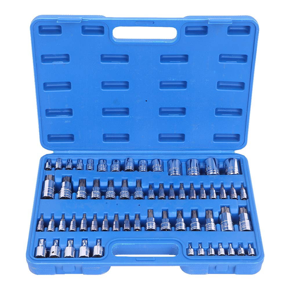 60pcs Combination Hex Allen Bit Socket Set by AllRide
