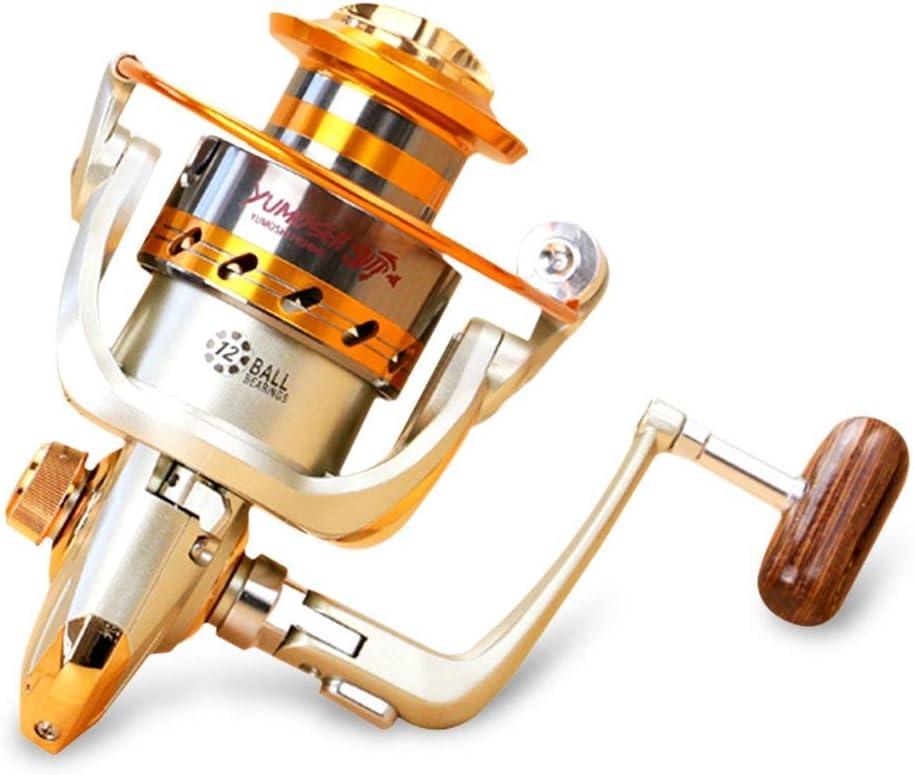 Carrete de Pesca Spinning 12BB Rodamientos de Bolas Intercambiable ...