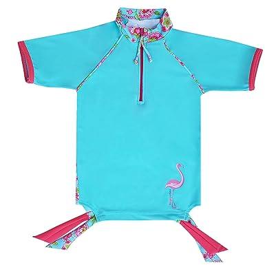 mayo Parasol Traje de baño para chicca Camiseta de baño con ...