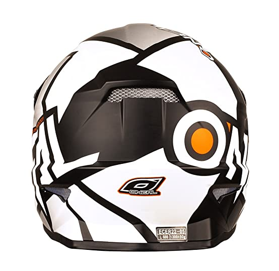 Amazon.com: ONeal Yth 3 Series Radium Helmet (Black/White, Large): Automotive