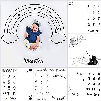 10 type Neugeboren Baby Meilenstein Decke Fotografie Hintergrund Fotostudio