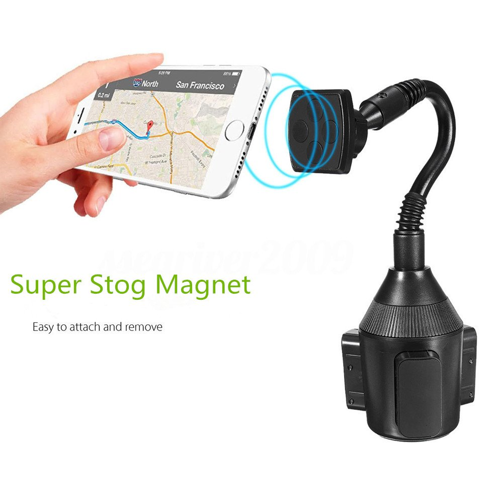 Samsung Galaxy S8 S7 S6 Edge S5 Note 7 8 5 Nexus 5//4 Most Cell Phone Smartphone Car Cup Holder Tablet and GPS 4335022556 Leagway Magnetic Cup Holder Phone Cradle Mount for iPhone X 8 8+ 7 7 Plus 6S 6 Plus 5S