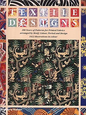 Textile Designs: 200 Years of Patterns for Printed Fabrics (Textile Motif)