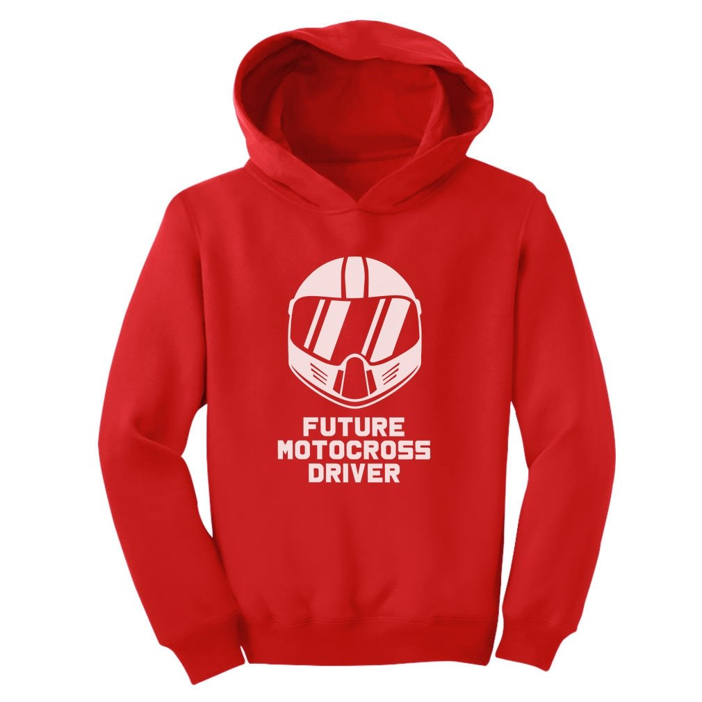 TeeStars - Future Motocross Rider - Born To Be a Motocross Driver Toddler Hoodie G0PMlPlgvm