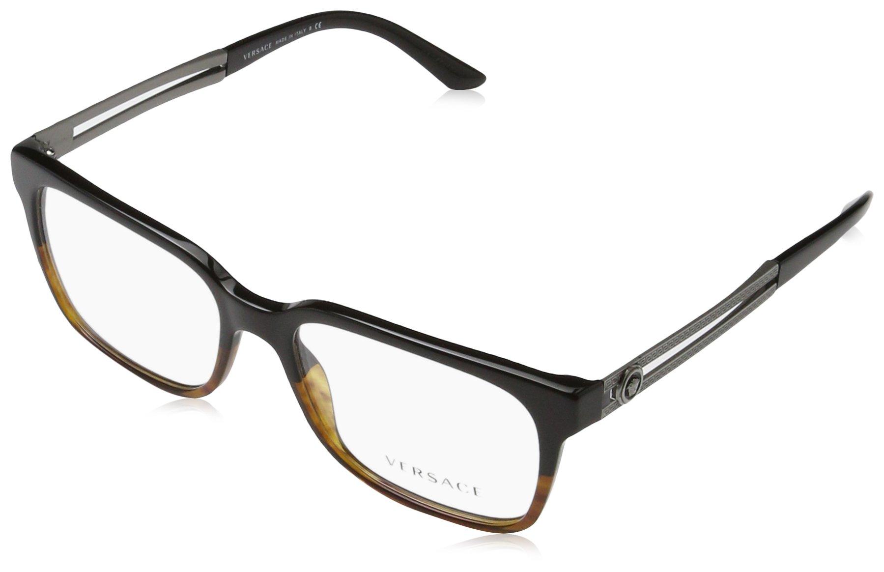 Eyeglasses Versace VE 3218 5177 BLACK/HAVANA by Versace