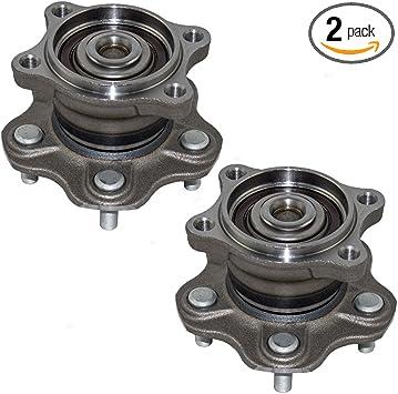 Amazon Com Pair Set Rear Wheel Hub Bearing Assemblies Replacement For Nissan Altima Maxima Quest 432027y000 43202ck000 432023z000 Automotive