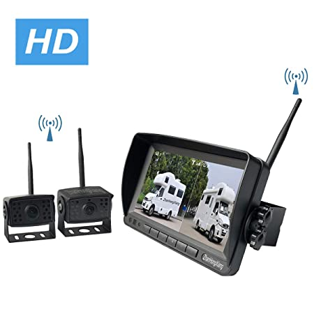 Amazon.com: ZhanHongXiang Digital Wireless Backup Camera ...