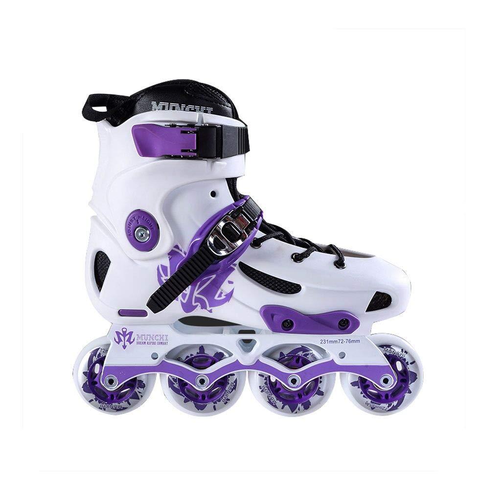 ailj インラインスケート、ラピッドスケート大人のプロフェッショナルローラースケートスピードスケートシューズ(フラッシュ) (色 : 2, サイズ さいず : EU 42/US 9/UK 8/JP 26cm)  EU 42/US 9/UK 8/JP 26cm
