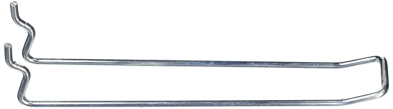 Bulk Hardware bh04852/Looped Pegboard gancho galvanizado 150/mm juego de 24/piezas