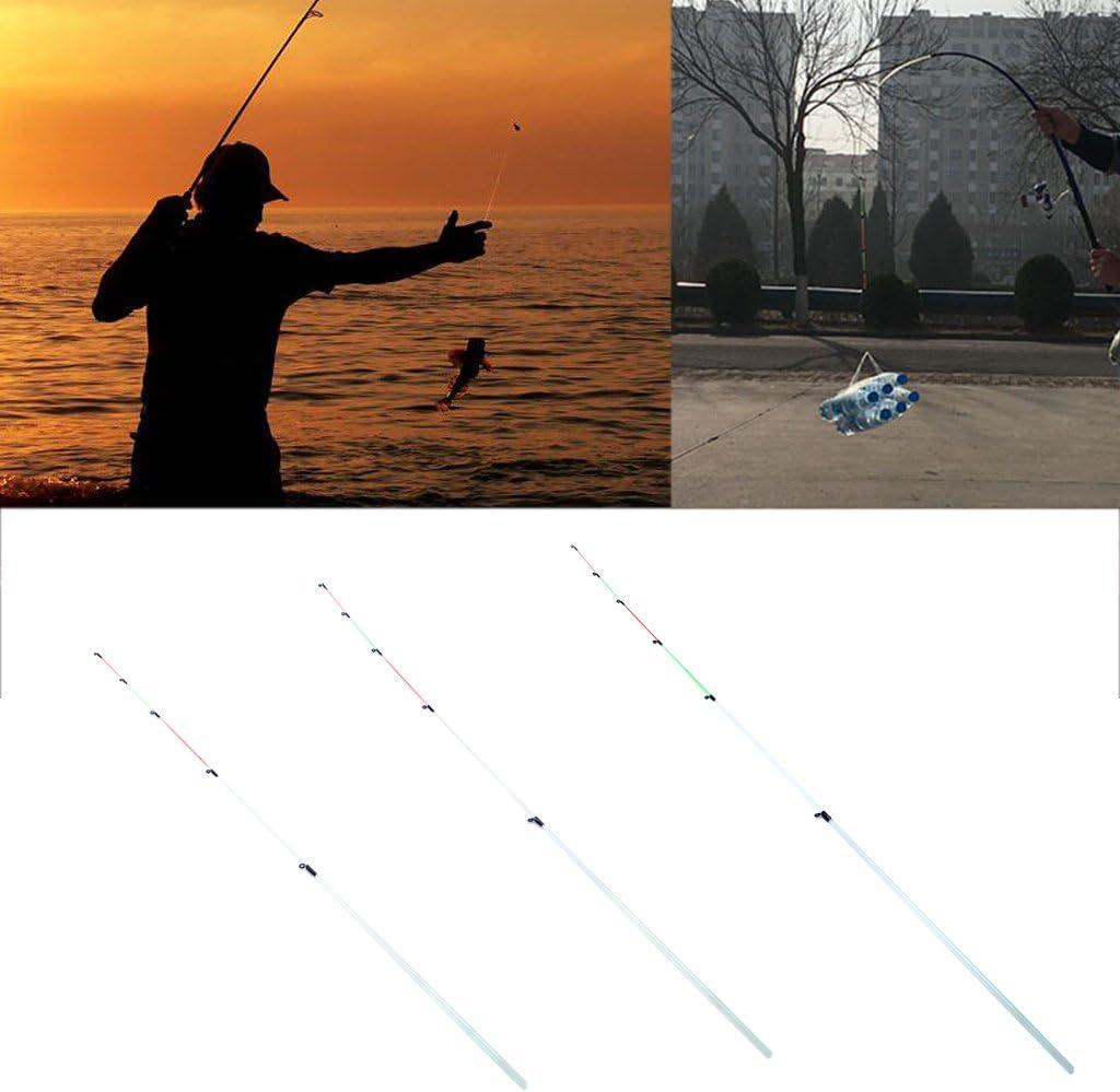 Portable Fishing Rod Pole Raft Slightly Spare Tip Fiberglass Accessories Tools❤
