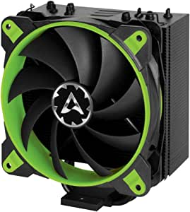 ARCTIC Freezer 33 eSports ONE - Tower CPU Cooler with 120 mm PWM Processor Fan for Intel and AMD Sockets, for CPUs up to 200 Watts TDP, Silent and Efficient (Green)