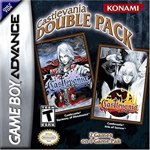 Castlevania 2 in 1 Double Pack (Harmony of Dissonance, Aria of Sorrow) - Game Boy Advance