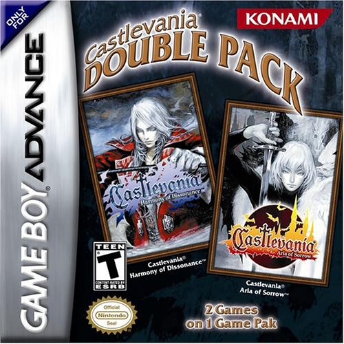 Castlevania Double Pack: Aria of Sorrow / Harmony of Dissonance