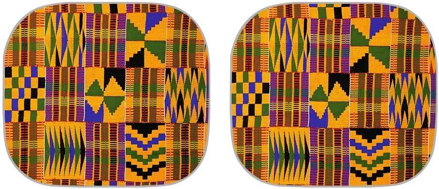 chaqlin Funny Auto Windshield Sun Shade Sea Turtle Pattern for Car SUV Truck Galaxy Space Pattern Double Bubble Foil Jumbo Folding Accordion