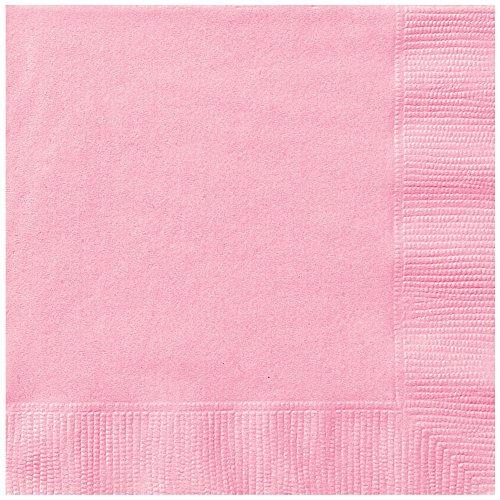 Light Pink Paper Napkins 50ct
