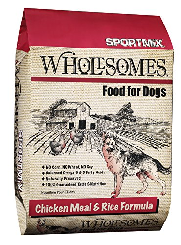 Sportmix Wholesomes Chicken Meal And Rice Dry Dog Food, 40 Lb.