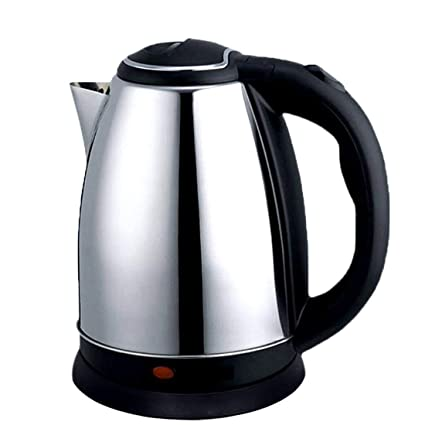 MOMS GADGETS 1.8 Liter Stainless Steel Electric Kettle - Color - Silver