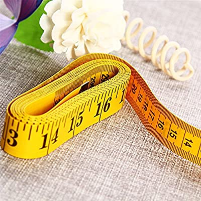 As Shown HOBOYER Soft Tape Measure,120 Inch 3M 300cm Tape Measure for Sewing Tailor Cloth Ruler Body Measurement Tape from