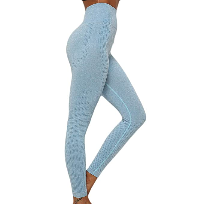 Mujer Fitness Deportes Pantalones de Leggings, Mujer Medias ...