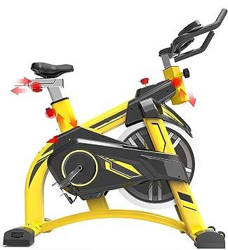 HLEZ Bicicleta estática, pulsómetro Pantalla LCD y Resistencia ...