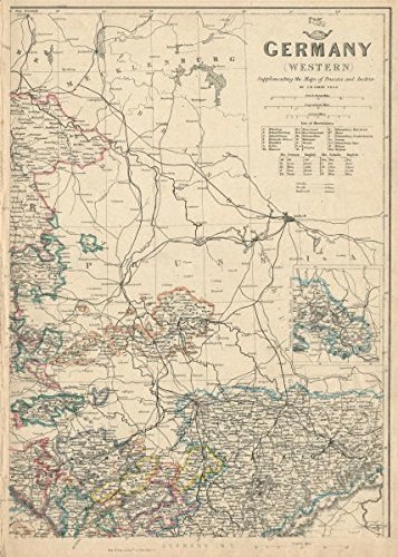 Amazon.com: Germany North East. Saxony Weimar Altenburg ... on transmission maps, data maps, shipping maps, service maps, inventory maps, jail maps,