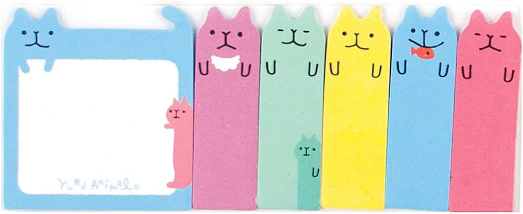 Rainbow Hearts International Arrivals Note Pals Sticky Tabs