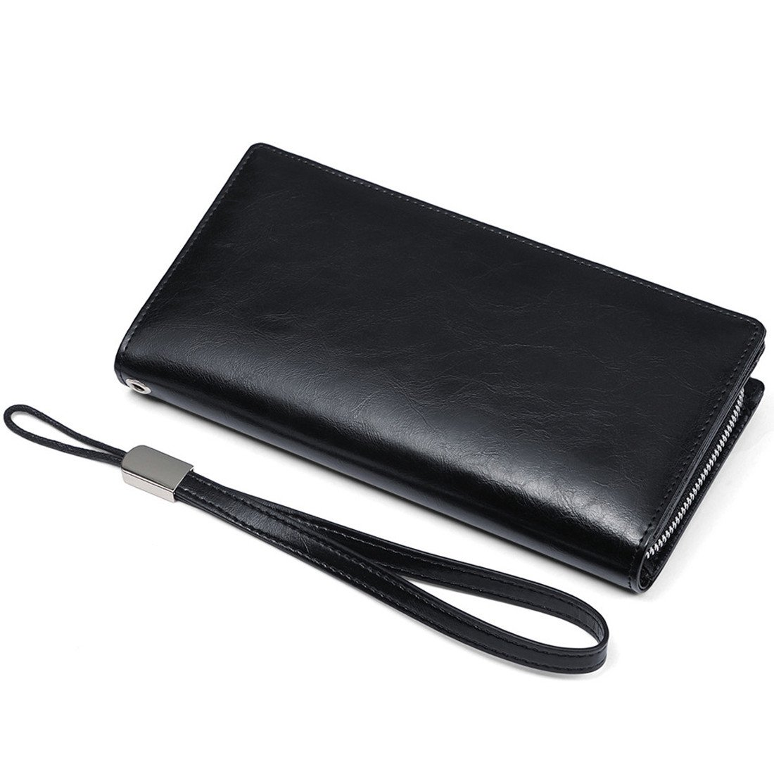 JEEBURYEE Womens Wallets Genuine Leather RFID Blocking Large ...