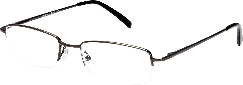 Best Seller SightLine Multi Focus Progressive Reading Glasses 6000 (Gunmetal, 2.00)