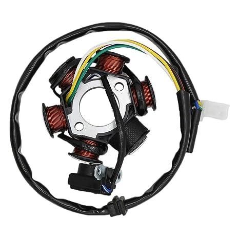 Amazon.com: CNCMOTOK - Bobina de encendido Magneto AC de 6 ...