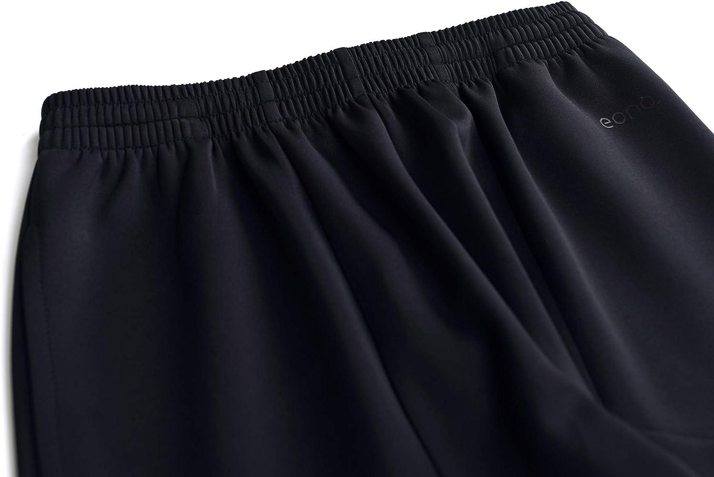 Eono Essentials Pantalones de deporte de punto para ni/ños