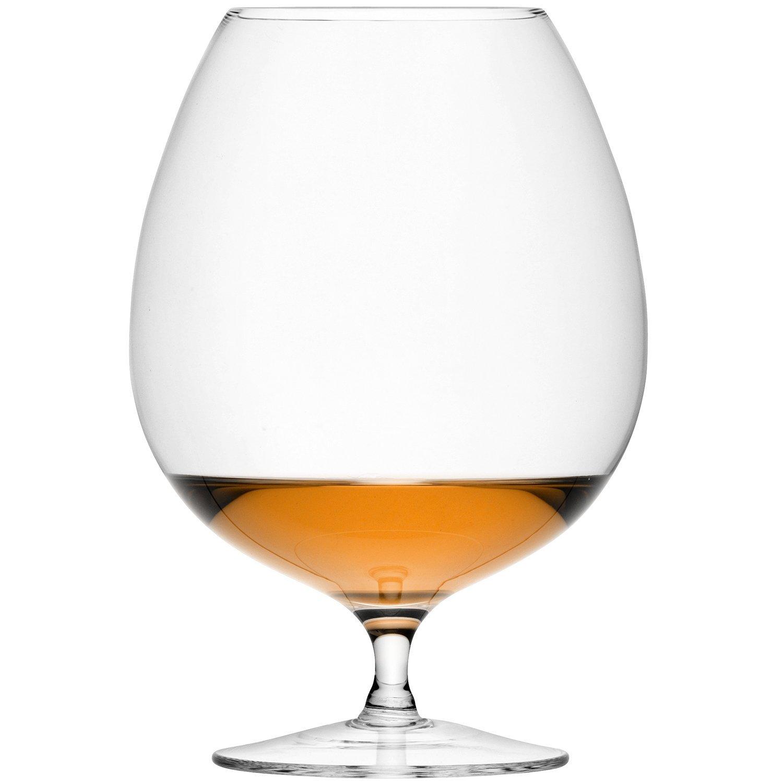 LSA International Bar Brandy Glass (2 Pack), 30.3 fl. oz., Clear