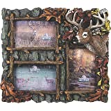 Rivers Edge Products 3 Picture Deer Frame