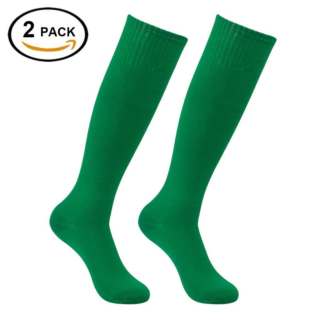 Feelingway SOCKSHOSIERY メンズ B076V44YZ6 2 Pairs Green 2 Pairs Green