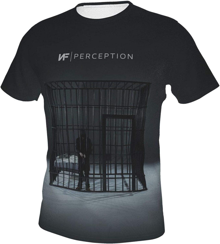 Nf Rapper Shirts Mens Fashion Crew Neck Short Sleeve T ...