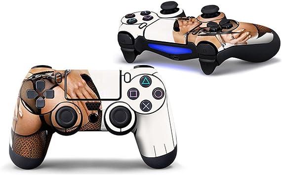 Morbuy PS4 Controller Skin Diseñador Piel Pegatina para Sony Playstation 4 PS4 Slim PS4 Pro DualShock Mando inalámbrico x 1 (Ass): Amazon.es: Electrónica
