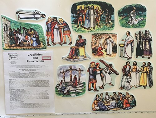 Story Life of Jesus 13 Bible Stories Felt Figures for
