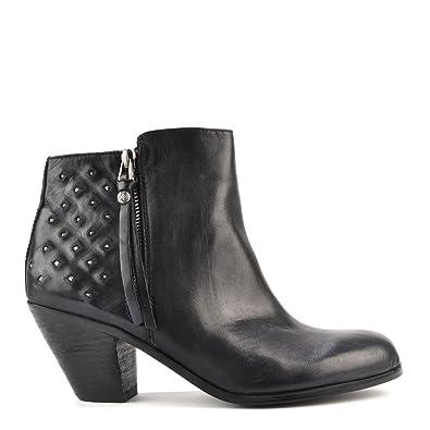 5b0c8fce291d Sam Edelman Lucille Black Studded Ankle Boots Black 40  Amazon.co.uk ...