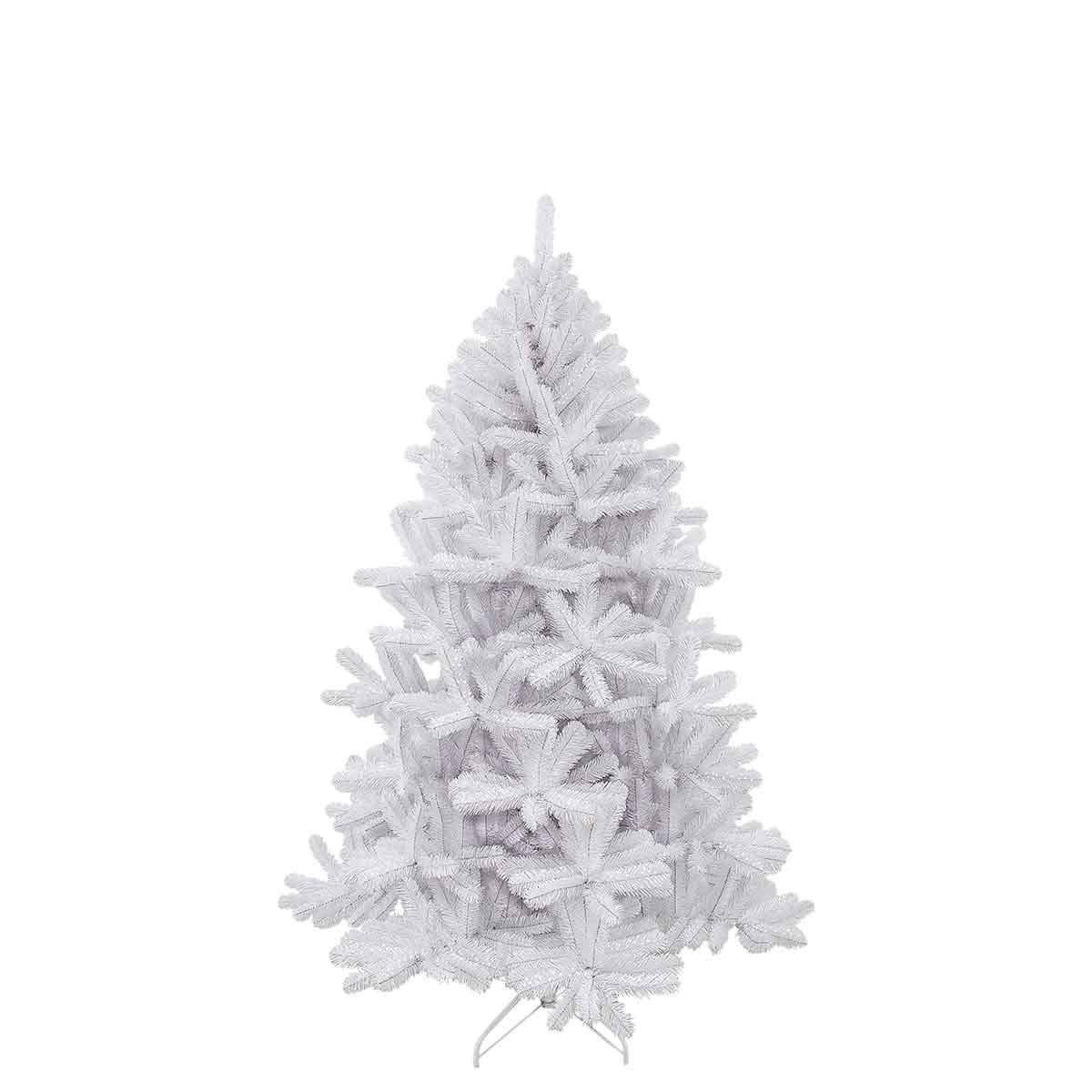 Triumph tree 792110 Tannenbaum Icelandic Irisdescent Höhe 155 cm, Durchmesser 94 cm, Tips 343, weiß
