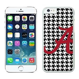 NEW DIY Unique Designed Case For iphone 6 plus Alabama Crimson Tide 1 iphone 6 plus White 5.5 TPU inch Phone Case 010