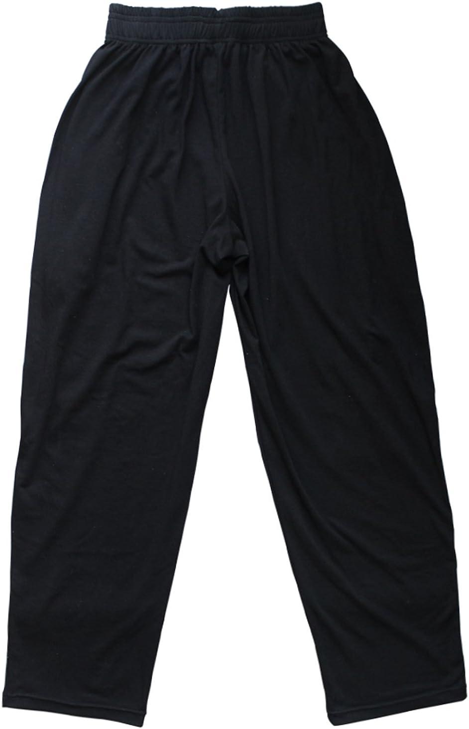 Pantalones Holgados para los Hombres Gimnasio de musculaci/ón de algod/ón y Spandex